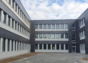 Klinkerbau von Verwaltungsgebäuden